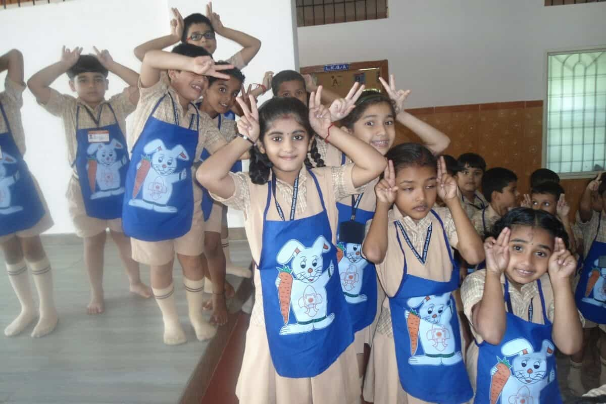 """Bunnies"" Entry into Mount Carmel School"