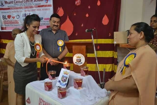 Blood Donation Camp as part of Decennial Year Programmes