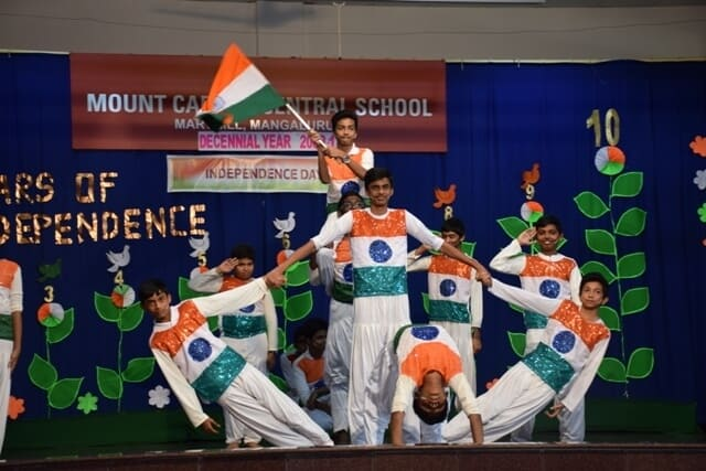 Patriotism is sown and nurtured during the 71st Independence Day Celebrations