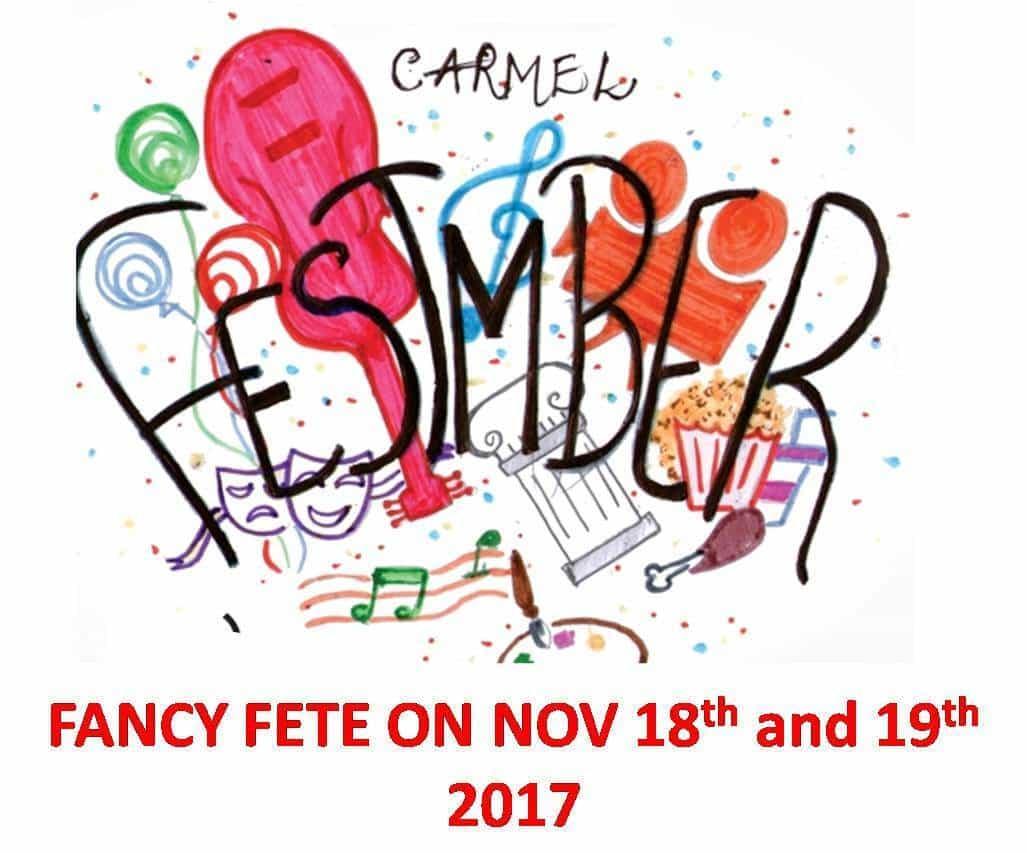 Carmel Festember - 2017