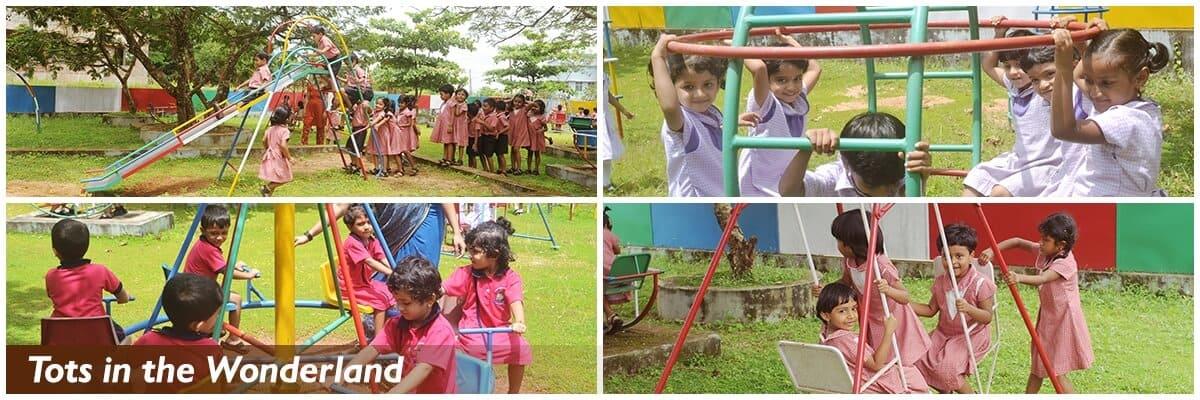 Childrens Playing in Playground