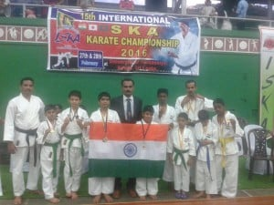 SKA Karate Bronze winner